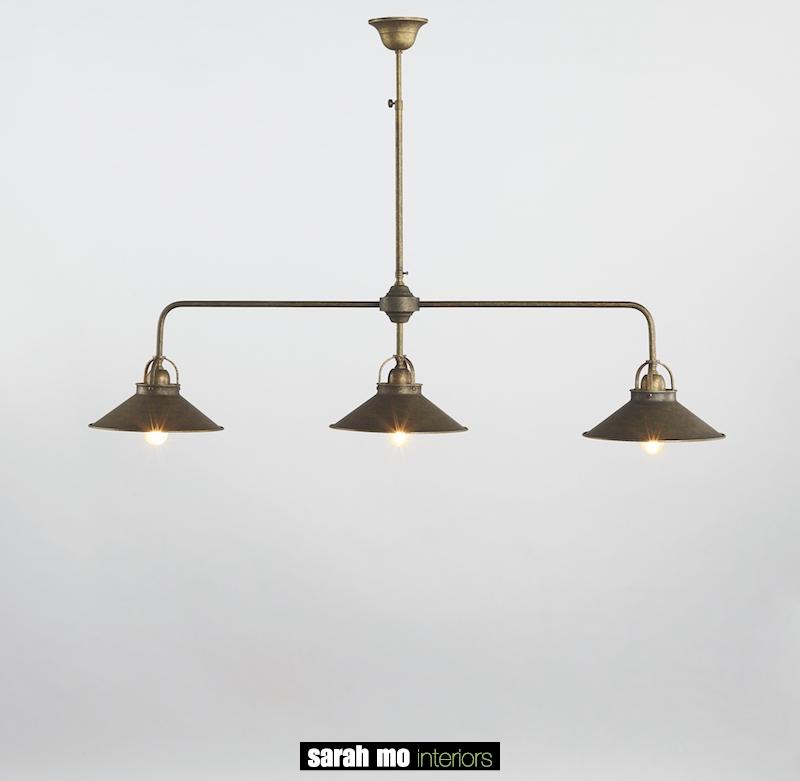 0187-3F-25-AS - Kroonluchter - Landelijke meubels en verlichting - Sarah Mo