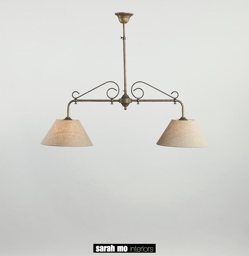 0191-2F-SHA-AS - Kroonluchter - Landelijke meubels en verlichting - Sarah Mo