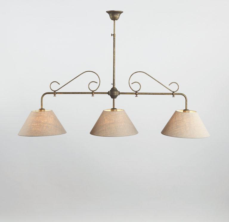 0191-3F-SHA-AS - Kroonluchter - Landelijke meubels en verlichting - Sarah Mo