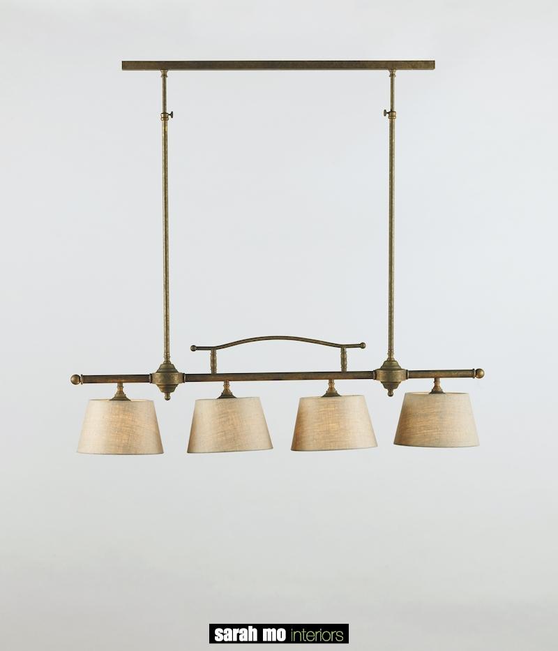 0250-4F-PROF-SHA-AS - Kroonluchter - Landelijke meubels en verlichting - Sarah Mo