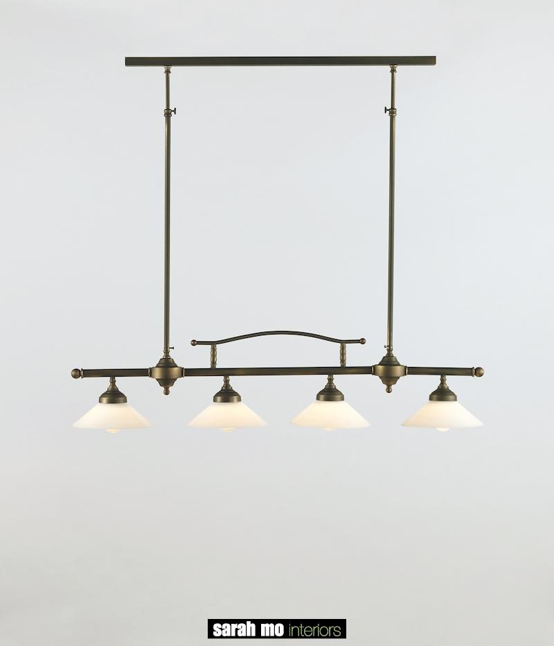 0250-4F-PROF-V0620-DB - Kroonluchter - Landelijke meubels en verlichting - Sarah Mo