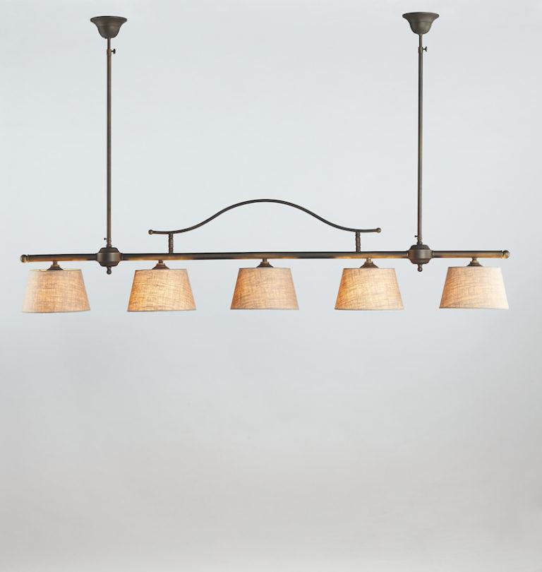 0250-5F-SHA-DB - Kroonluchter - Landelijke meubels en verlichting - Sarah Mo