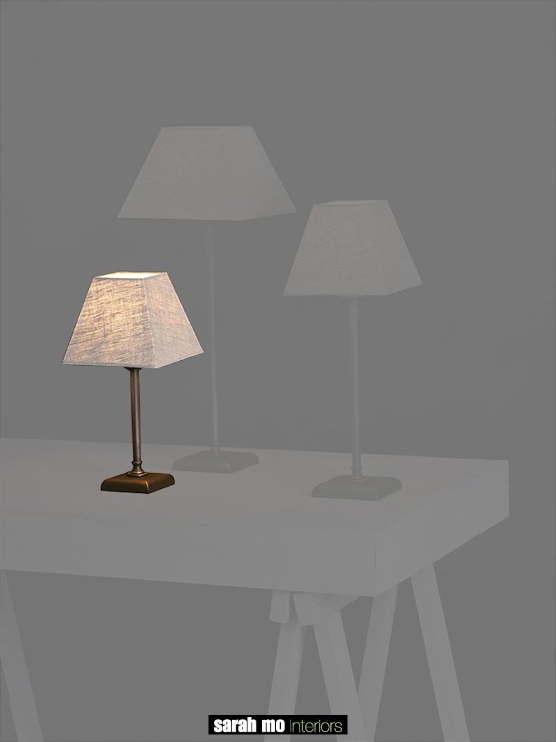 0260-20-DB - Lampenkap - Landelijke meubels en verlichting - Sarah Mo