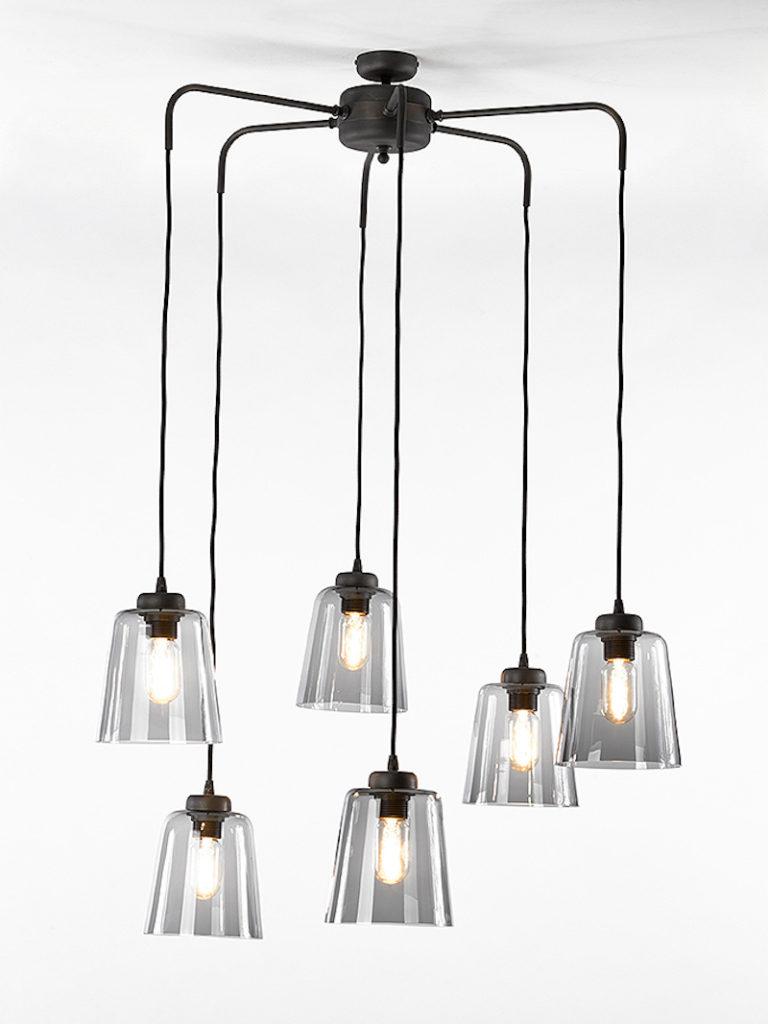 0281-6F-DB - Kroonluchter - Landelijke meubels en verlichting - Sarah Mo