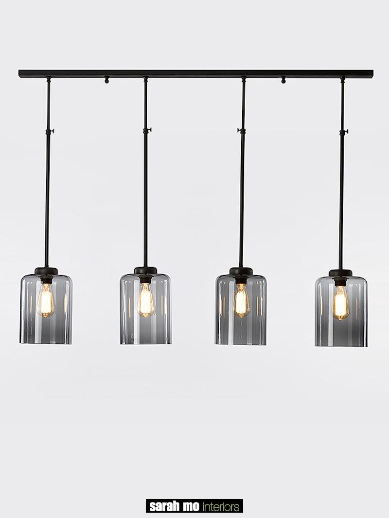 0282-4F-DB - Kroonluchter - Landelijke meubels en verlichting - Sarah Mo