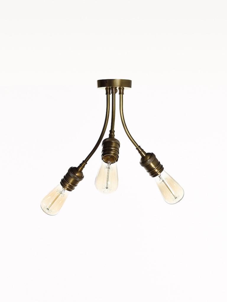 0705-3F-OTT - Plafondarmatuur - Landelijke meubels en verlichting - Sarah Mo