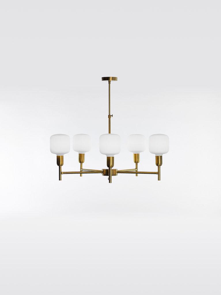 0709-5-OTT - Kroonluchter - Landelijke meubels en verlichting - Sarah Mo