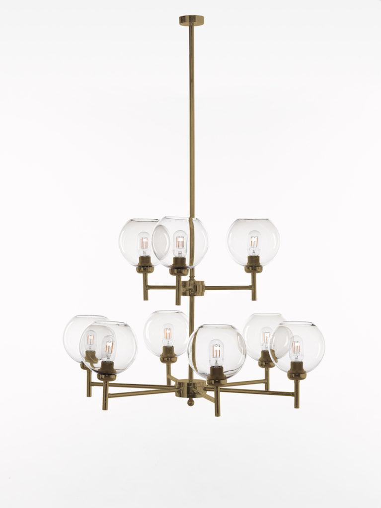0790-6+3-OTT - Kroonluchter - Landelijke meubels en verlichting - Sarah Mo