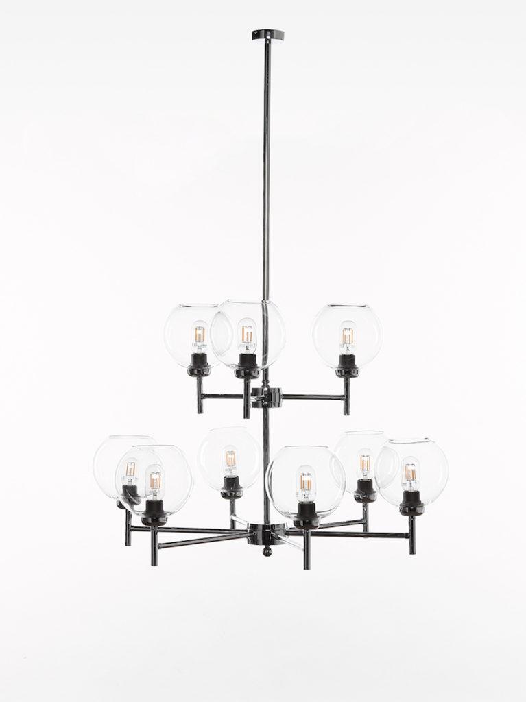 0790-6+3-CRO - Kroonluchter - Landelijke meubels en verlichting - Sarah Mo