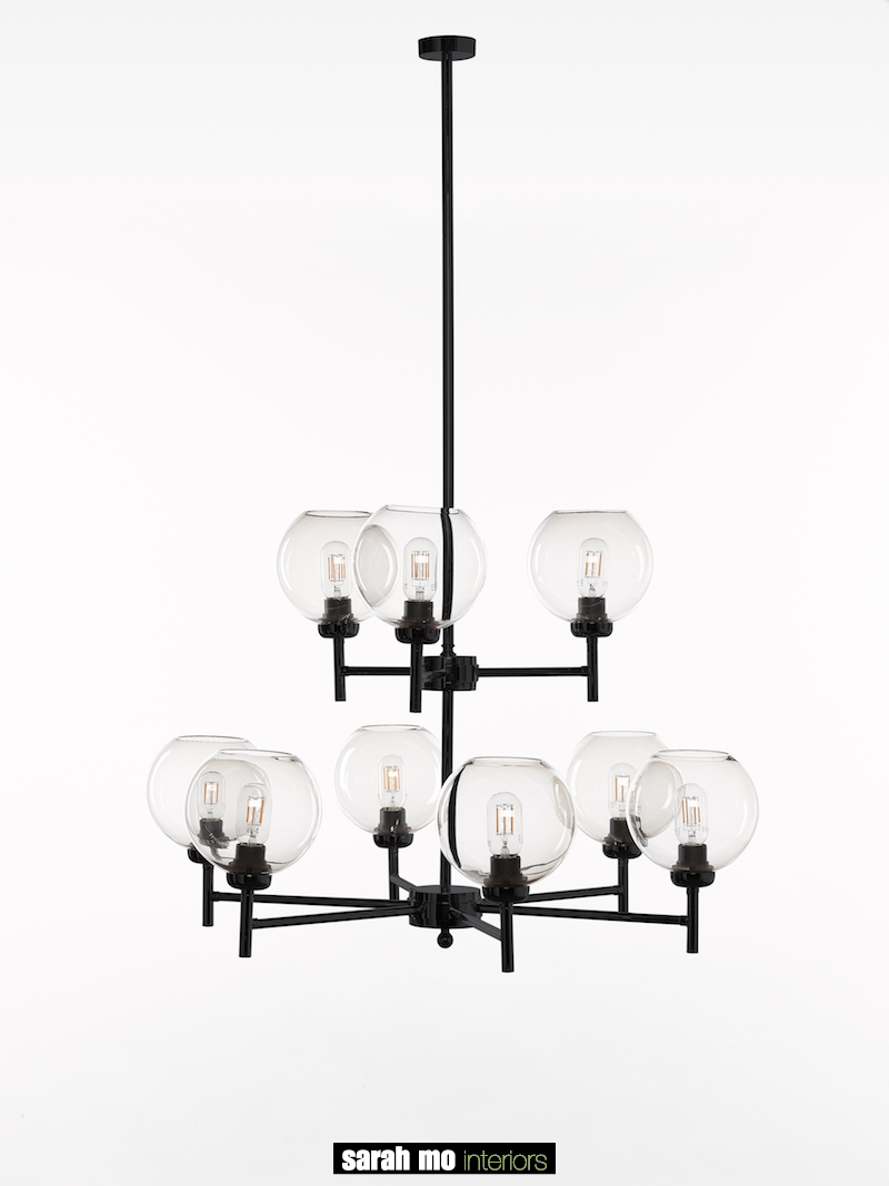0790-6+3-NE - Kroonluchter - Landelijke meubels en verlichting - Sarah Mo