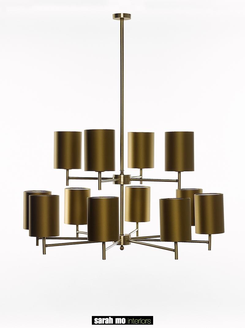 0790-8+4-OTT - Kroonluchter - Landelijke meubels en verlichting - Sarah Mo
