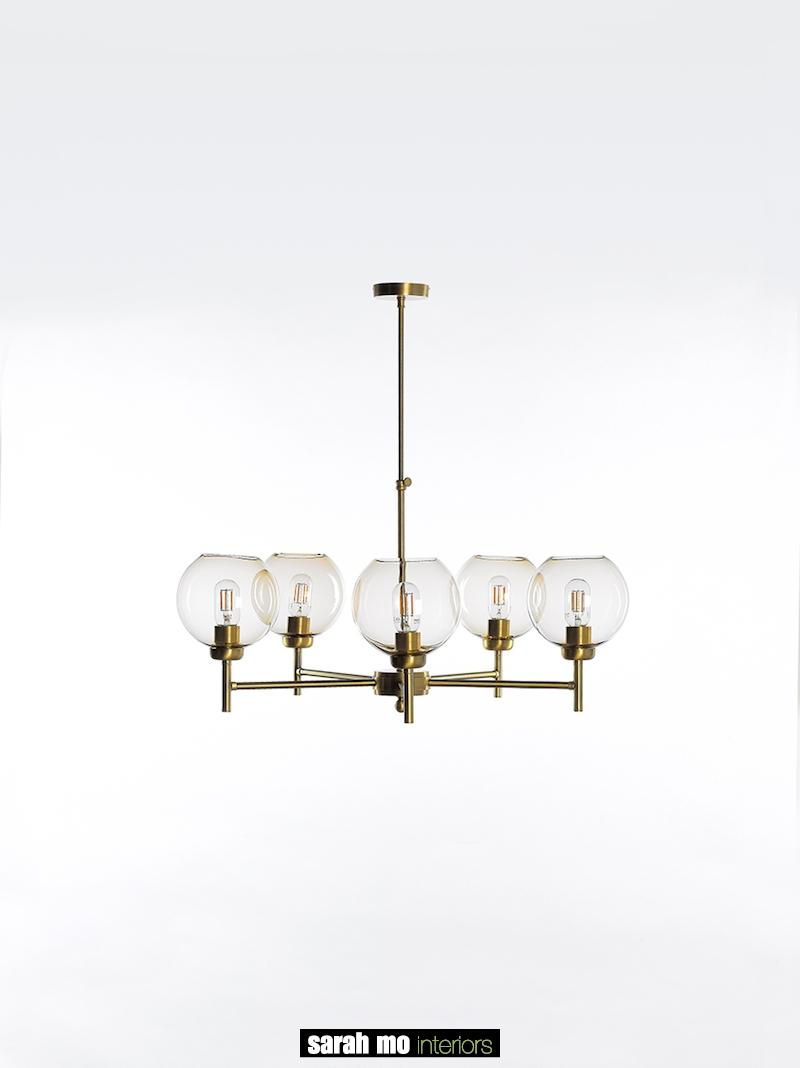 0791-5-OTT - Kroonluchter - Landelijke meubels en verlichting - Sarah Mo