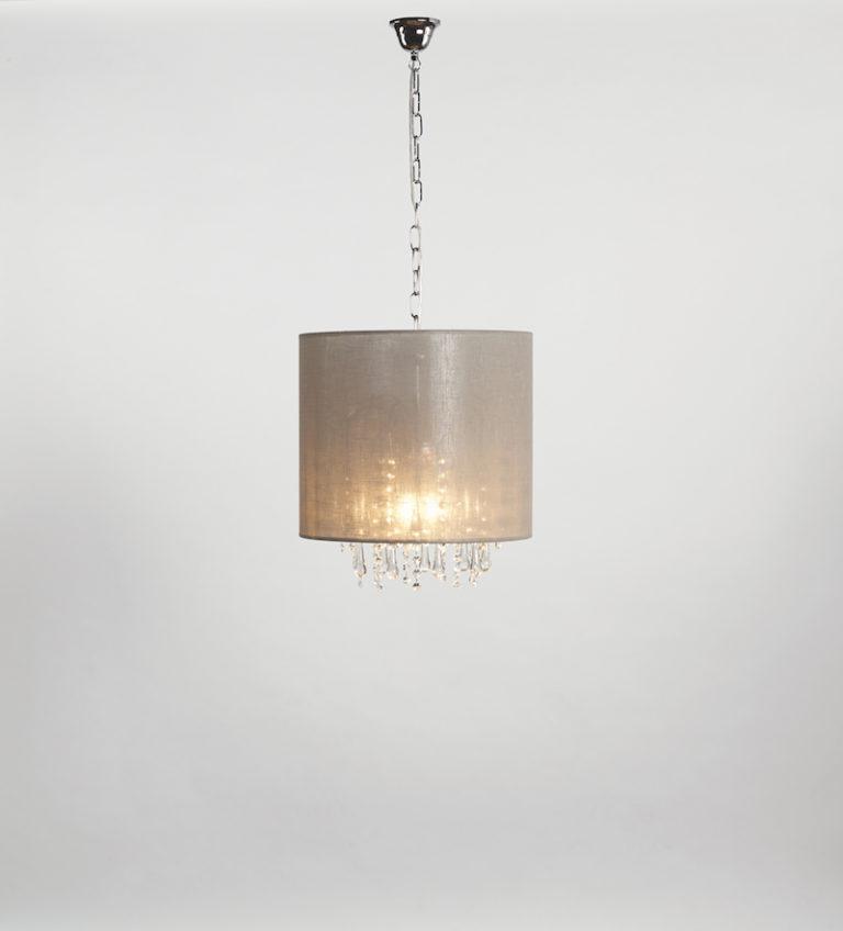 131-25-3-CRO + DROP CLEAR - Kroonluchter - Landelijke meubels en verlichting - Sarah Mo