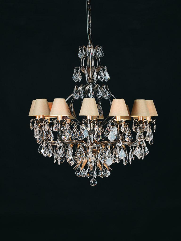 1310-12-ARG ANT + VIOLIN - Kroonluchter - Landelijke meubels en verlichting - Sarah Mo
