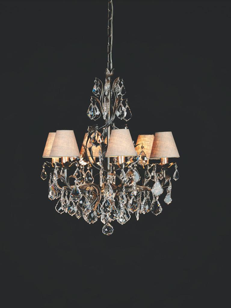 1310-6-ARG ANT + VIOLIN - Kroonluchter - Landelijke meubels en verlichting - Sarah Mo