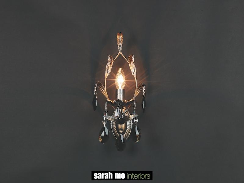 1310-A1-ARG ANT + FUME - Kroonluchter - Landelijke meubels en verlichting - Sarah Mo