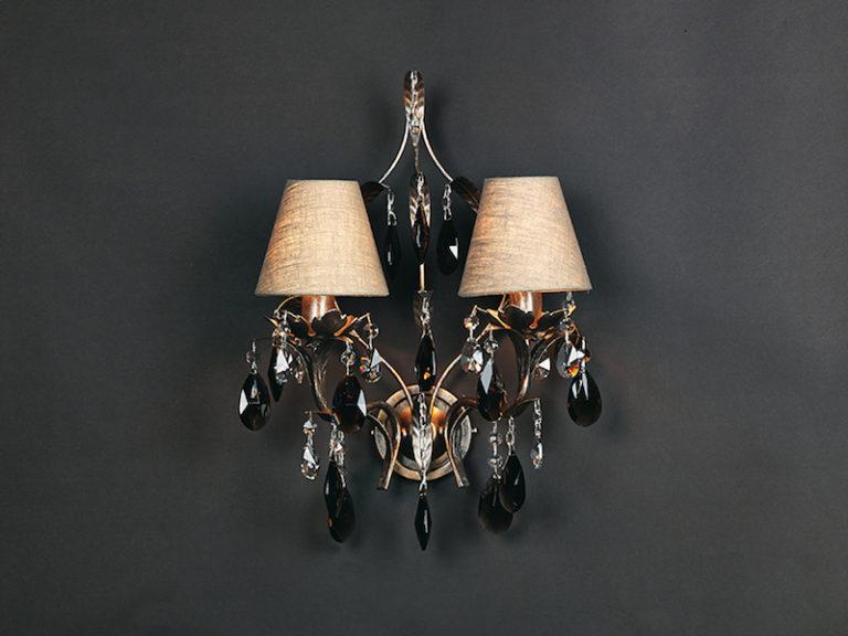 1310-A2-ARG ANT + FUME - Kroonluchter - Landelijke meubels en verlichting - Sarah Mo