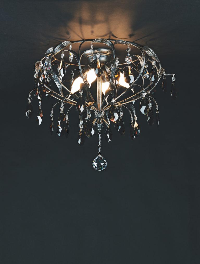 1310-PL4-ARG ANT + FUME - Kroonluchter - Landelijke meubels en verlichting - Sarah Mo