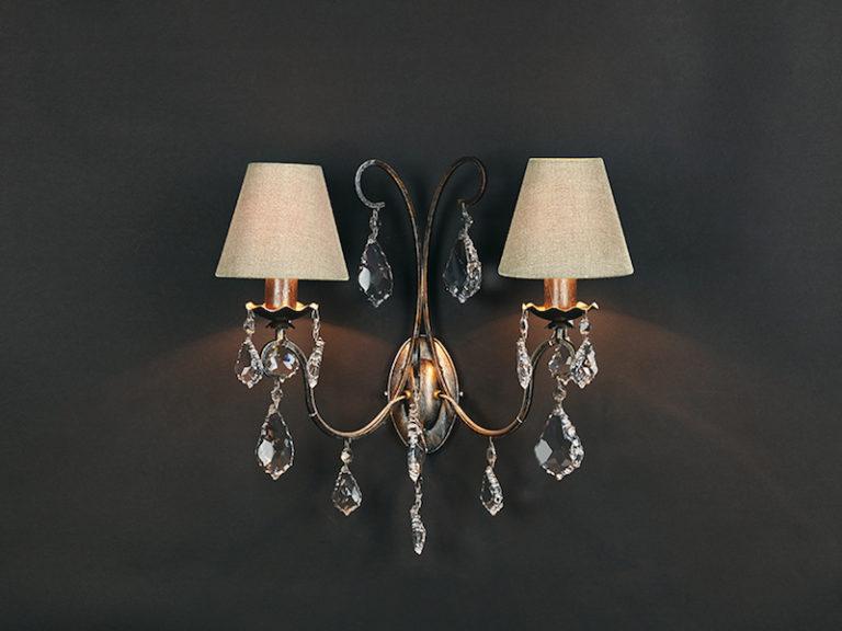 1510-A2-ARG ANT + VIOLIN - Lampenkap - Landelijke meubels en verlichting - Sarah Mo
