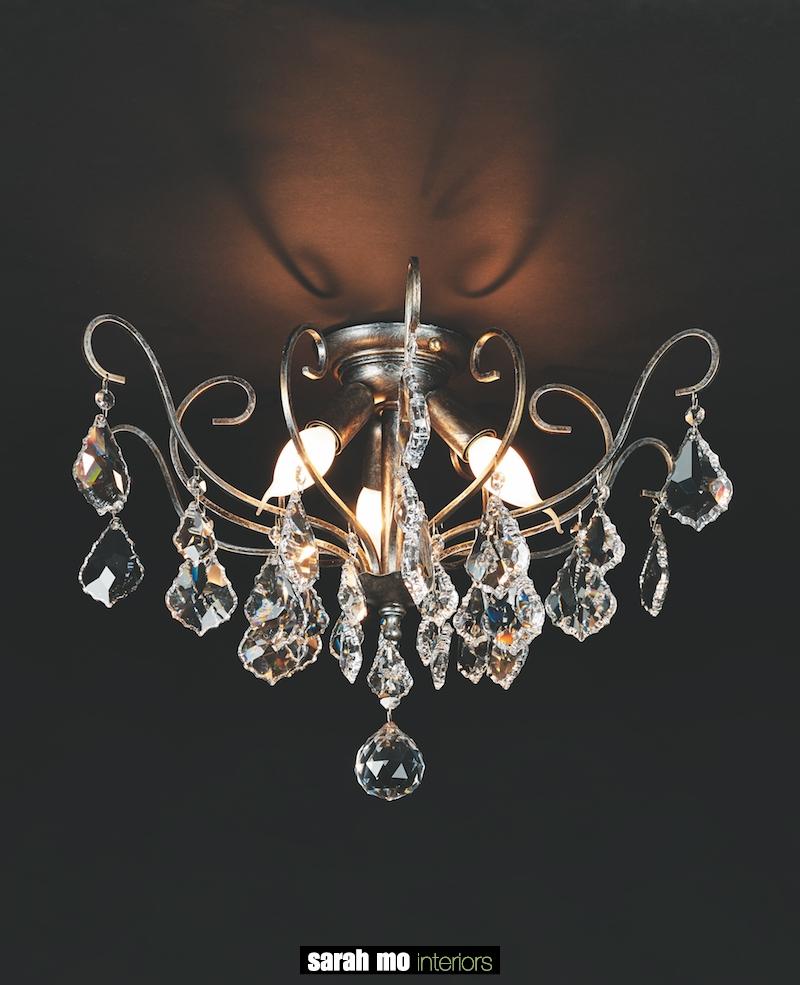 1510-PL3-ARG ANT + VIOLIN - Kroonluchter - Landelijke meubels en verlichting - Sarah Mo