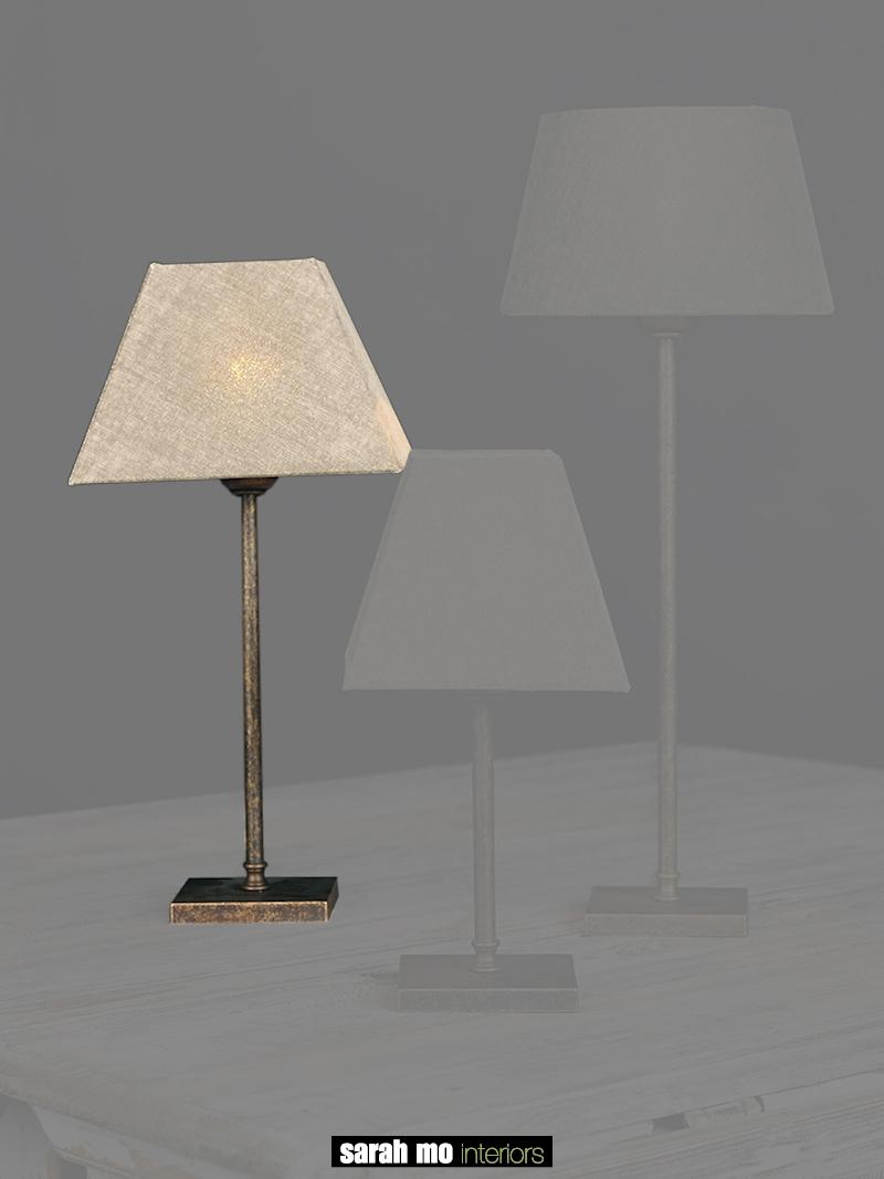 0255-30-AS - Lampenkap - Landelijke meubels en verlichting - Sarah Mo