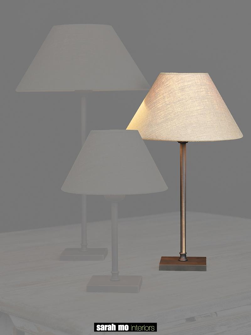 0255-30-DB - Lampenkap - Landelijke meubels en verlichting - Sarah Mo
