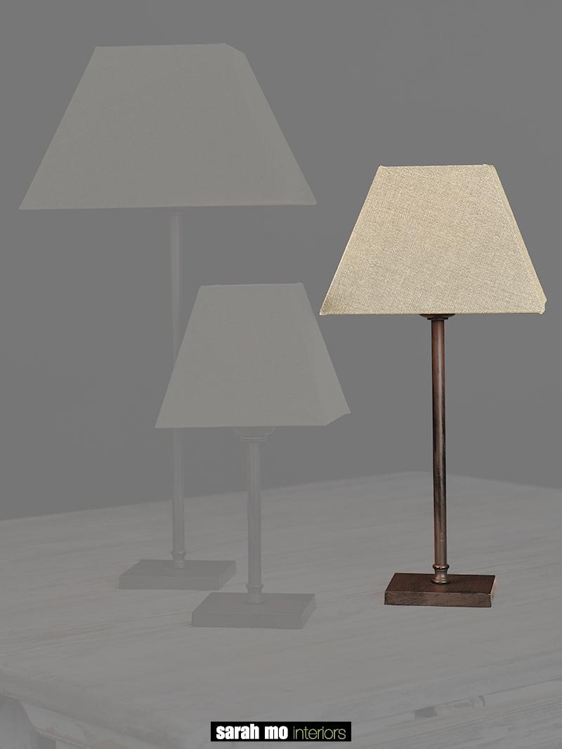 0255-30-MN - Lampenkap - Landelijke meubels en verlichting - Sarah Mo