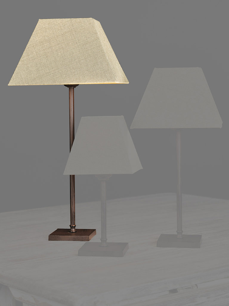 0255-40-MN - Lampenkap - Landelijke meubels en verlichting - Sarah Mo