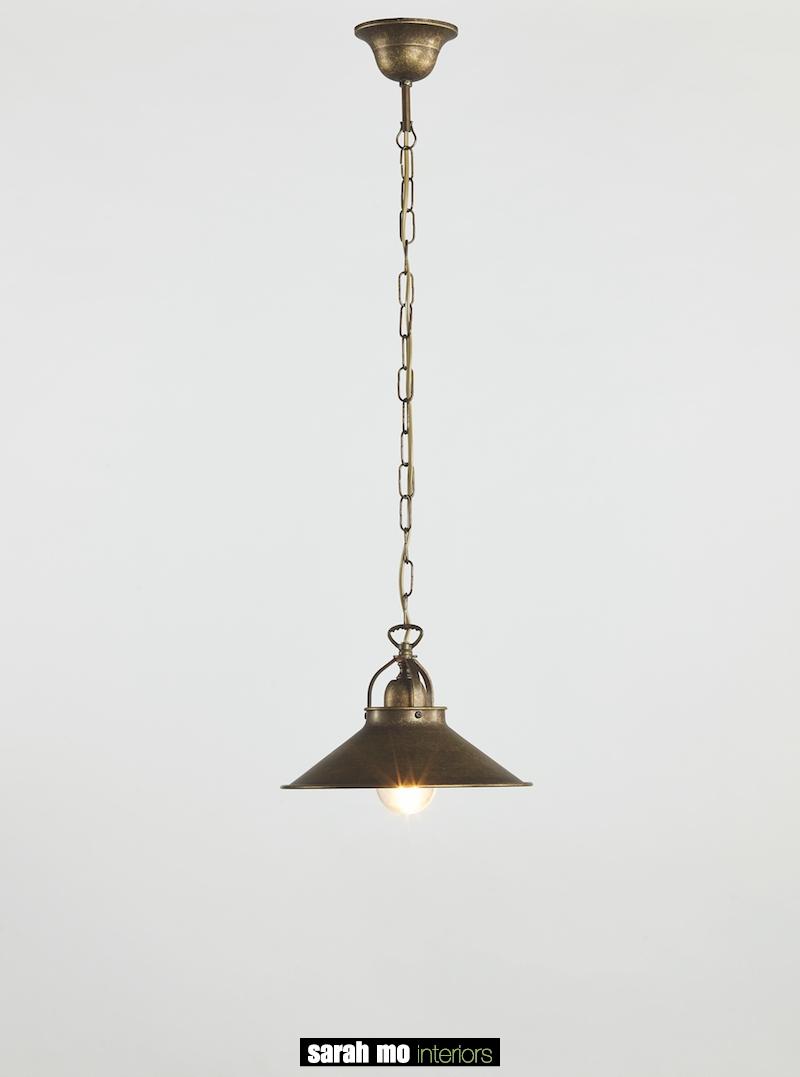 3018-S1-25-AS - Messing - Landelijke meubels en verlichting - Sarah Mo