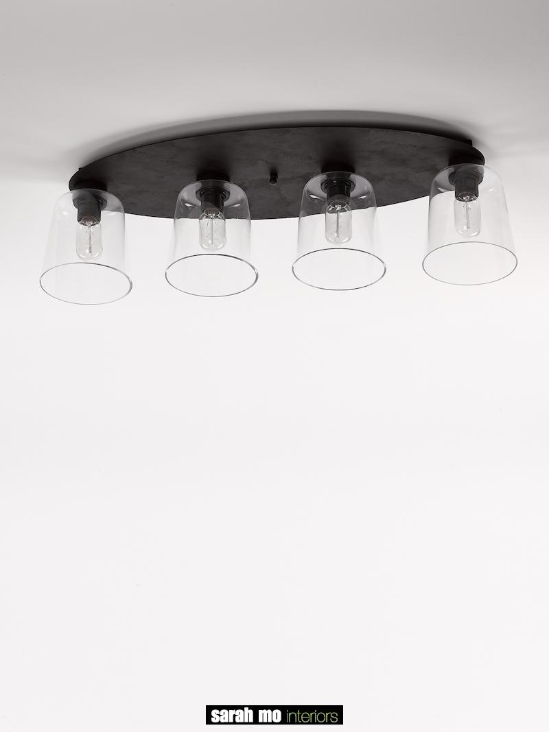 3410-PL4-OV-RU - Kroonluchter - Landelijke meubels en verlichting - Sarah Mo