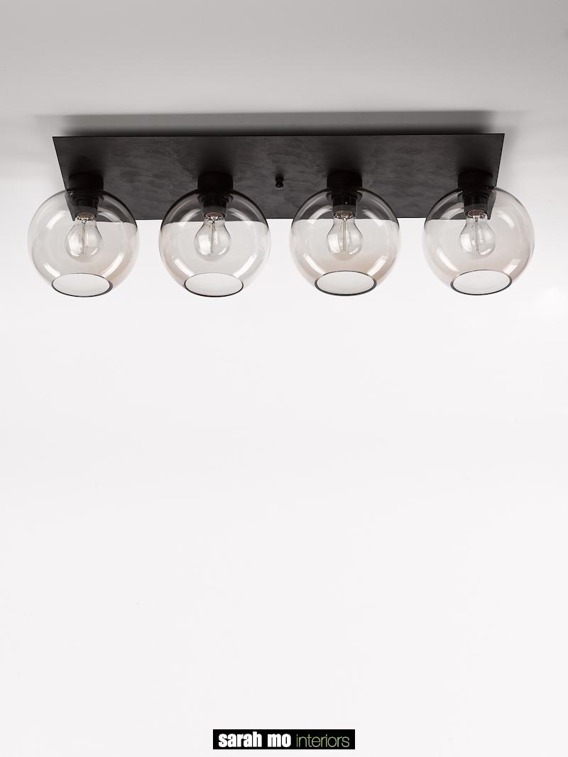 3410-PL4-RECT-RU - Plafondlicht - Landelijke meubels en verlichting - Sarah Mo