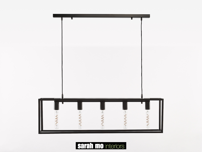 3493-T5-NP - Kroonluchter - Landelijke meubels en verlichting - Sarah Mo