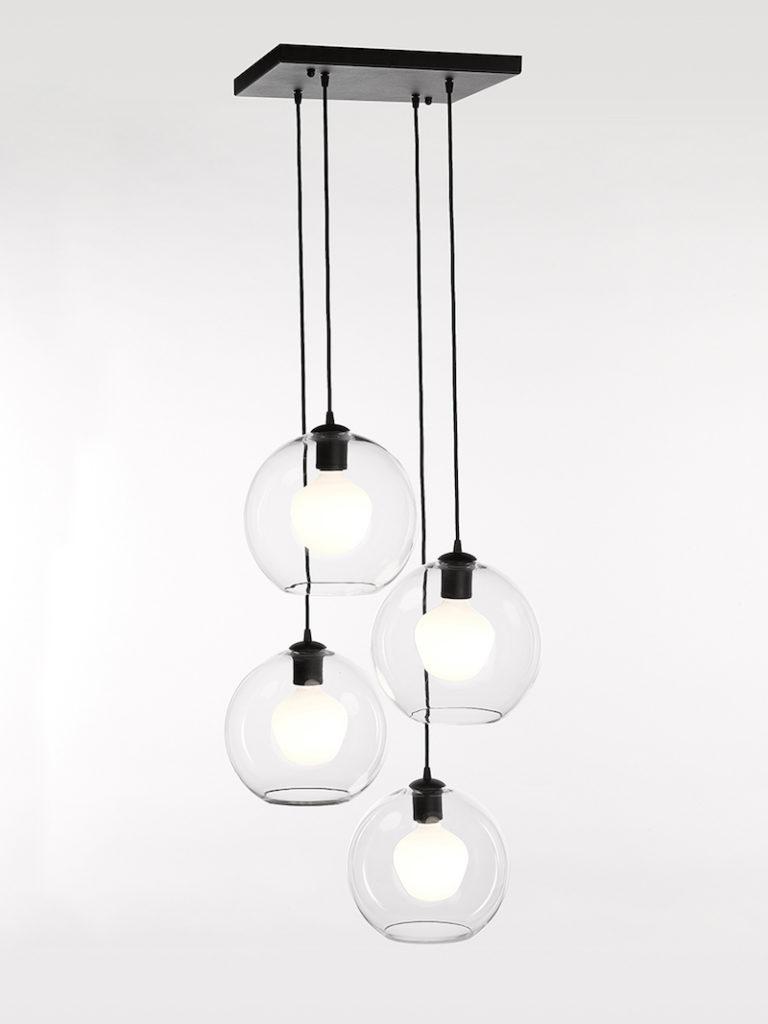 4040-PL4-SQ-GL-NE - Licht - Landelijke meubels en verlichting - Sarah Mo