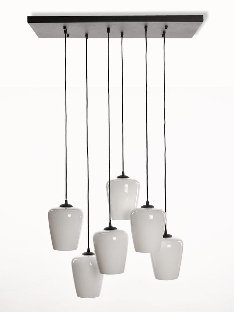 4080-PL6-GL-NE - Kroonluchter - Landelijke meubels en verlichting - Sarah Mo