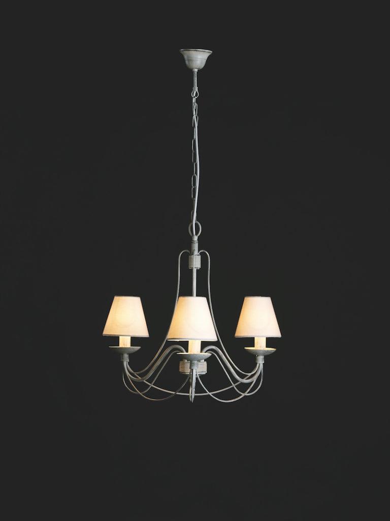 604-3AVNE - Kroonluchter - Landelijke meubels en verlichting - Sarah Mo