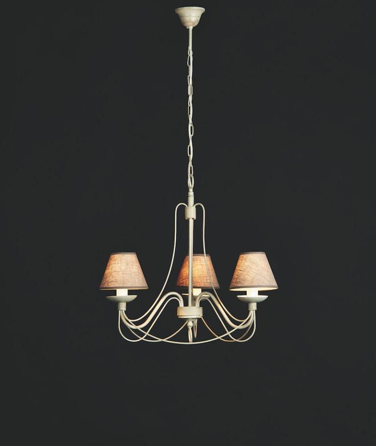 604-3 AV ORO - Kroonluchter - Landelijke meubels en verlichting - Sarah Mo