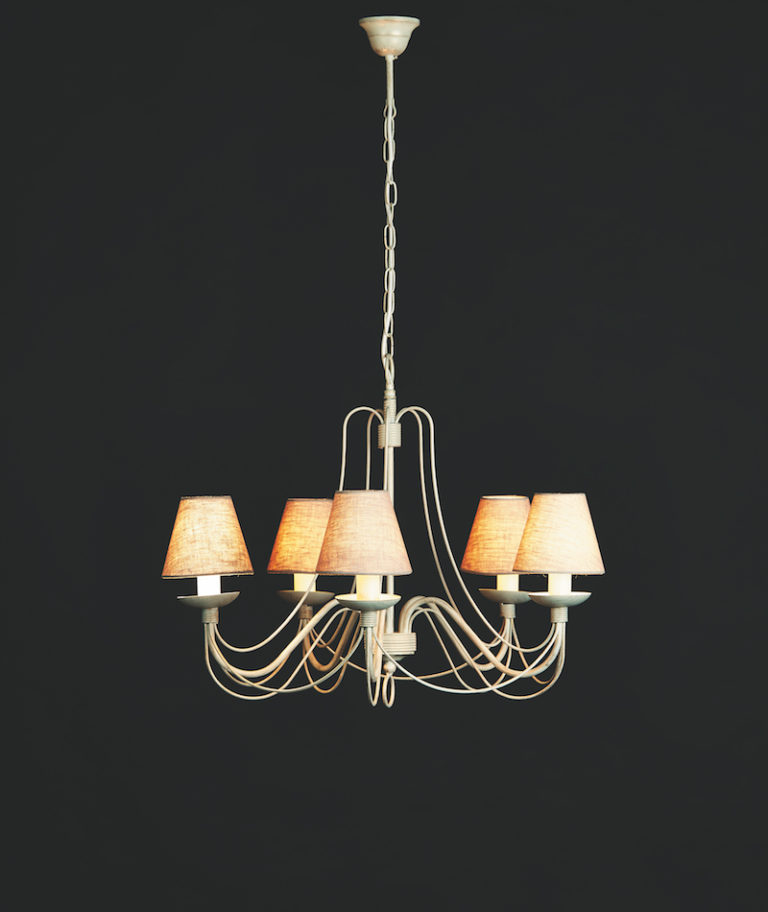 604-5-AV ORO - Kroonluchter - Landelijke meubels en verlichting - Sarah Mo