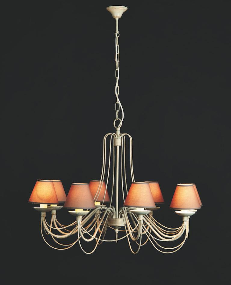 604-8 AV ORO - Kroonluchter - Landelijke meubels en verlichting - Sarah Mo