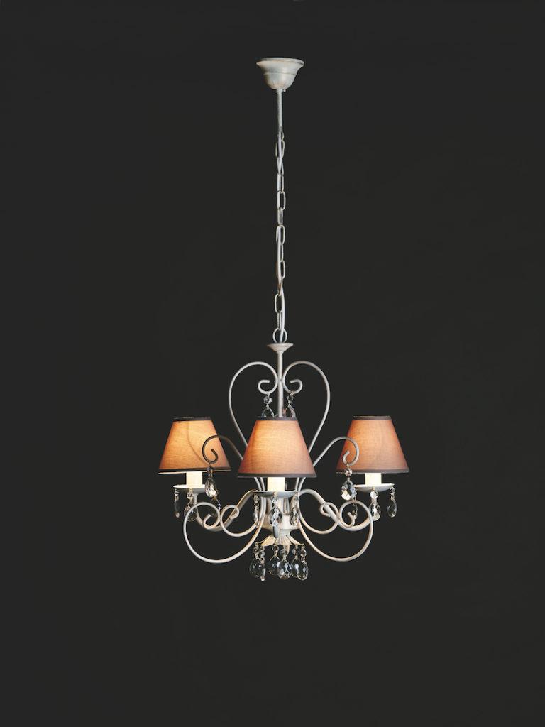 655-3 AV ORO - Kroonluchter - Landelijke meubels en verlichting - Sarah Mo