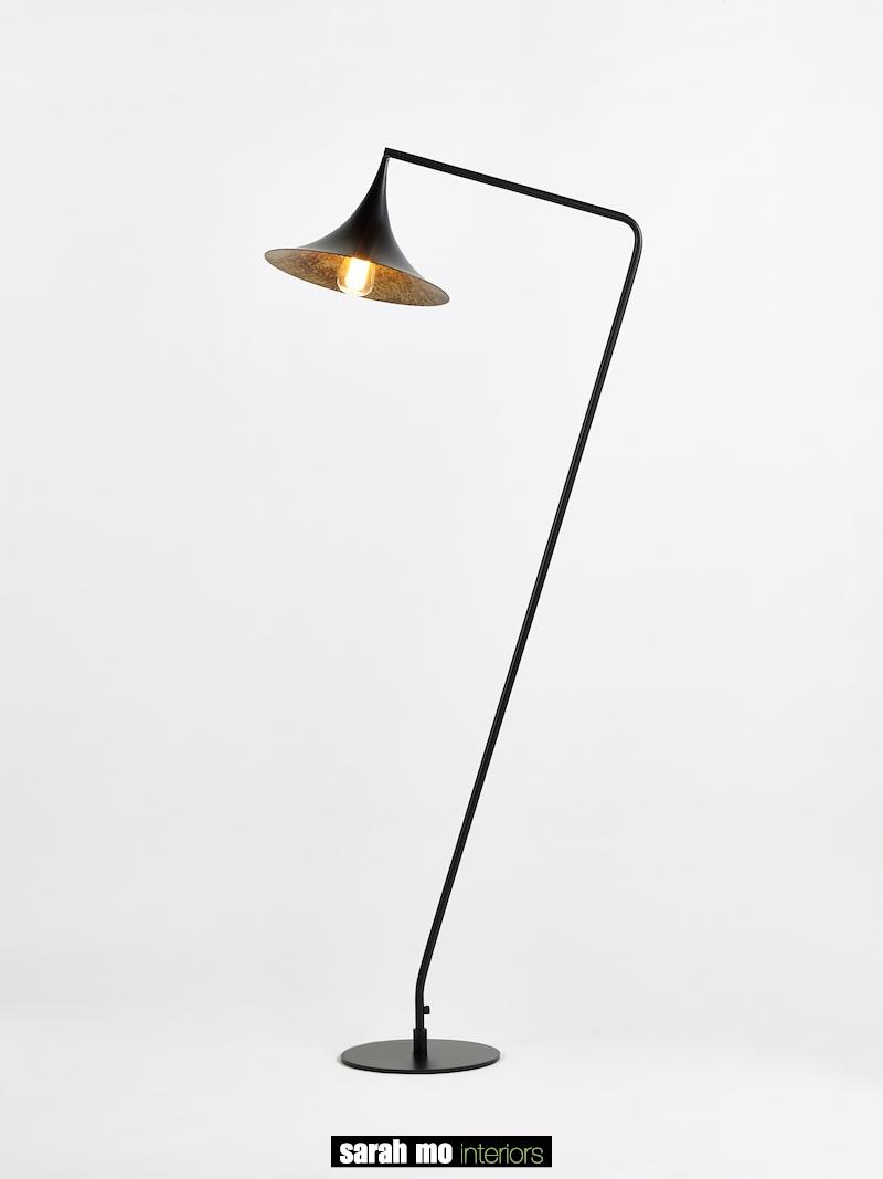 9031-1PB-BG-FLOOR - Lamp - Landelijke meubels en verlichting - Sarah Mo