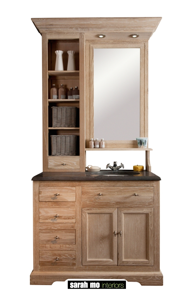 BATH-031 - Badkamer - Landelijke meubels en verlichting - Sarah Mo