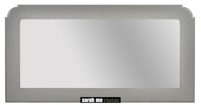 Spiegel gelakt - Badkamer - Landelijke meubels en verlichting - Sarah Mo
