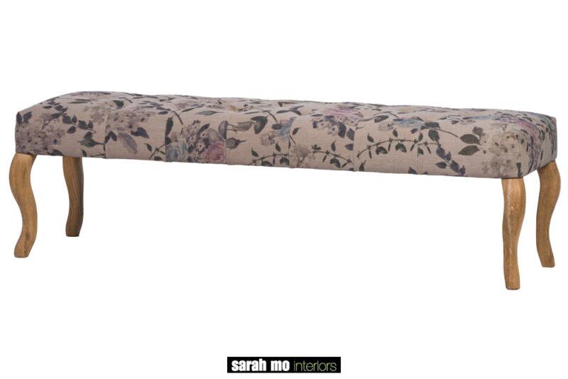 Buitenbank - Landelijke meubels en verlichting - Sarah Mo