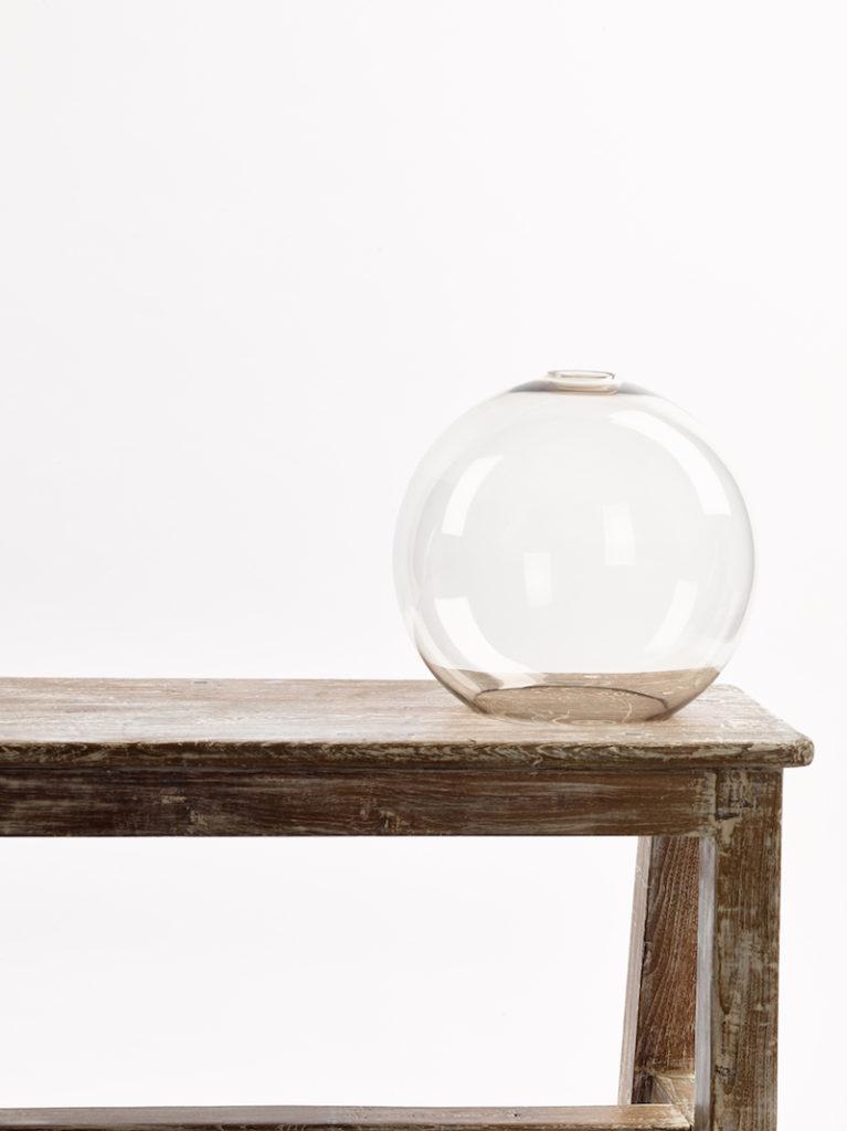 GLAS BOL GROOT TOPAZ - Salontafel - Landelijke meubels en verlichting - Sarah Mo