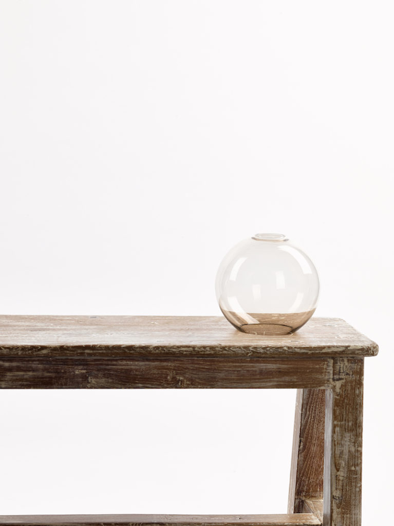 GLAS BOL KLEIN TOPAZ - Salontafel - Landelijke meubels en verlichting - Sarah Mo