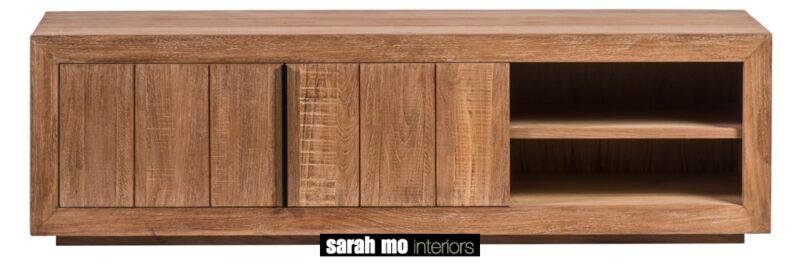 Groot tv-dressoir met 2 deuren - Dressoir - Landelijke meubels en verlichting - Sarah Mo