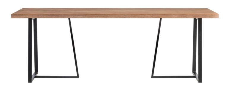 Tafel met metalen onderstel - Tafel - Landelijke meubels en verlichting - Sarah Mo