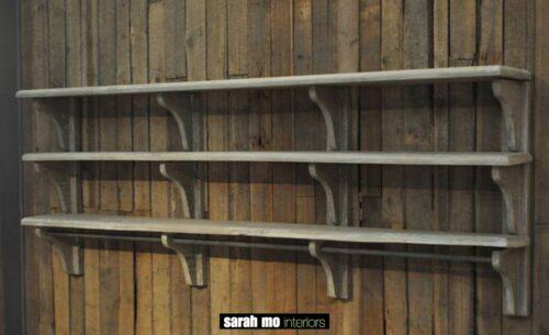 Keukenrek in old pine - Keuken - Landelijke meubels en verlichting - Sarah Mo