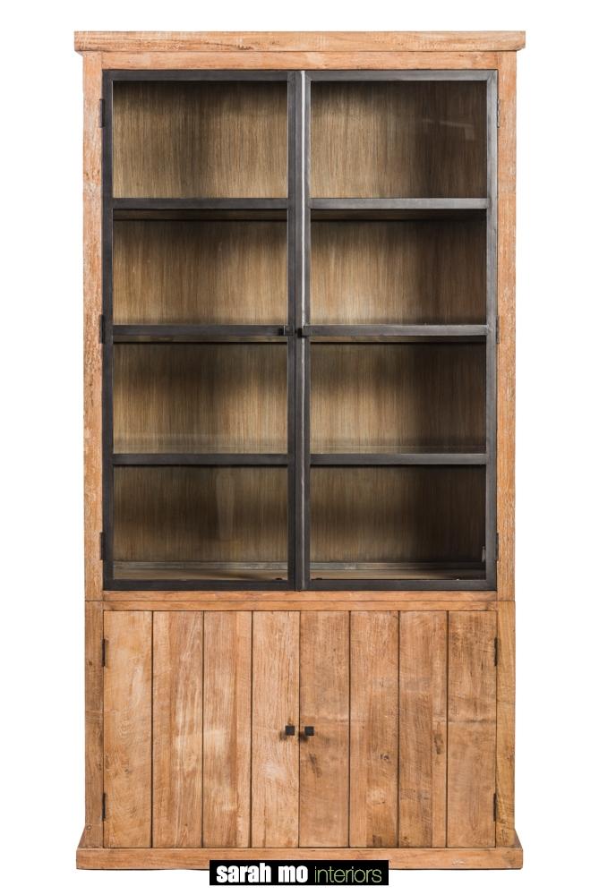 Vitrinekast met 2 deuren - Kast - Landelijke meubels en verlichting - Sarah Mo