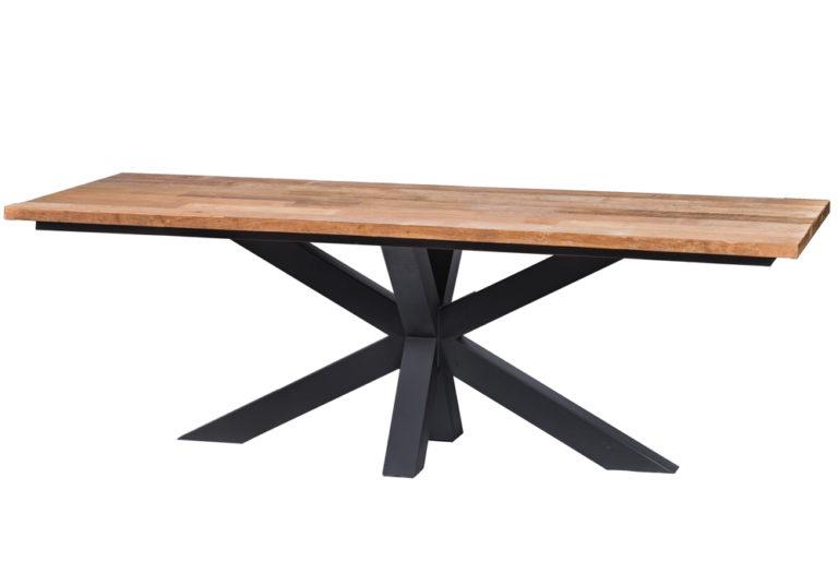 Tafel met metalen spin poot - Tafel - Landelijke meubels en verlichting - Sarah Mo